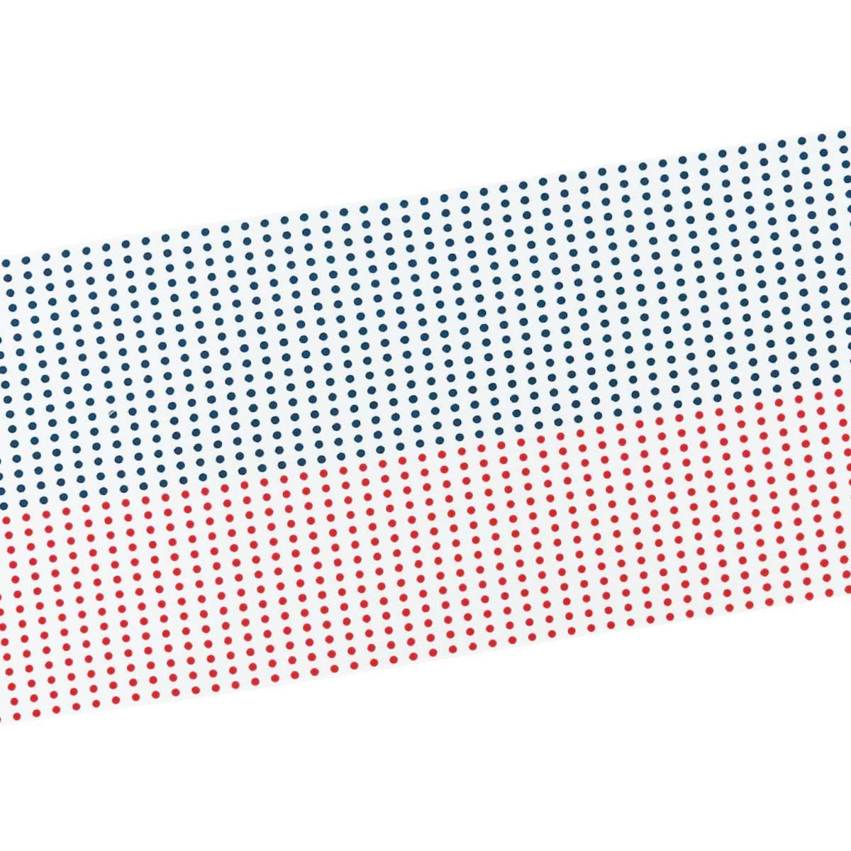 赤紺豆絞り手拭