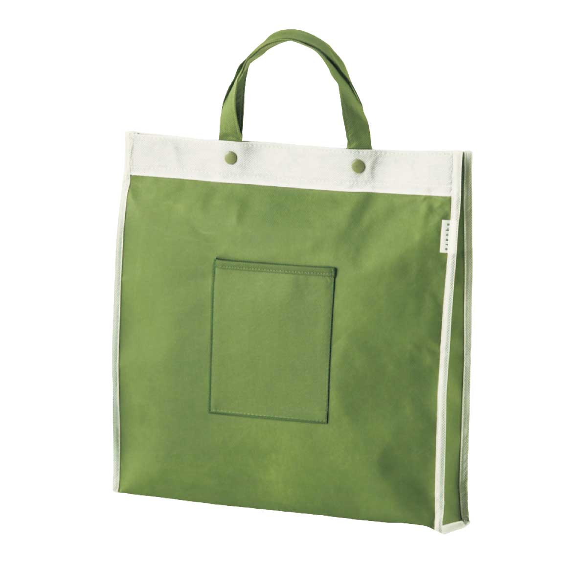 不織布バッグ スクウェア(グリーン)