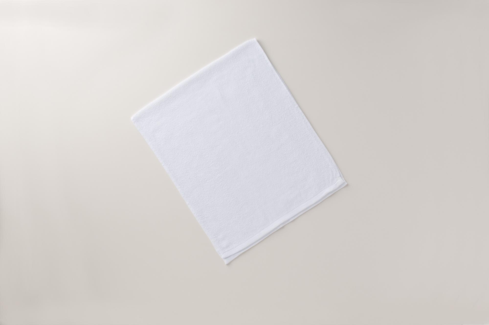 海外製200匁白タオル総パイル