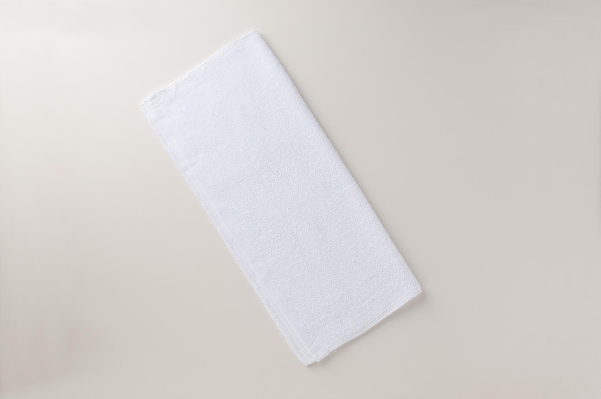 中国製460匁白バスタオル